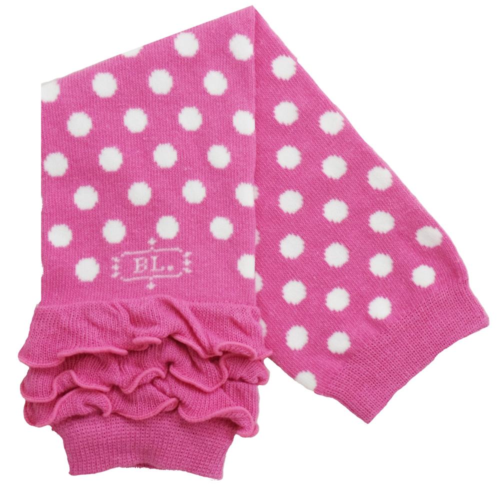 美國 BabyLegs 嬰幼兒襪套 (粉紅點點)