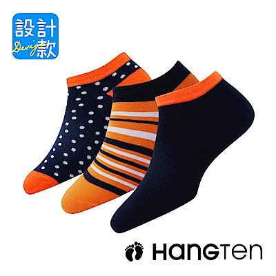 HANG TEN  設計款 玩色船型襪12雙超值組(HT-A21007-10)