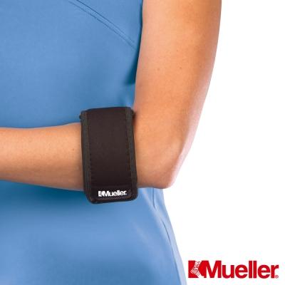 MUELLER慕樂 醫療級Neoprene高爾夫球肘/網球肘束帶 黑色(MUA6316)