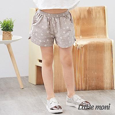 Little moni 星星印圖短褲 (2色可選)