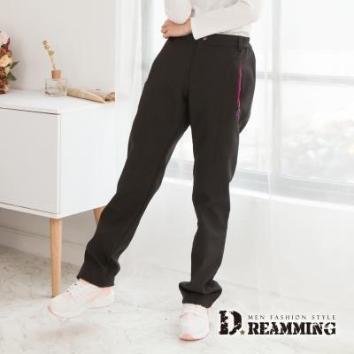 Dreamming 女型戶外機能防風防潑水厚刷毛雪褲-共二色