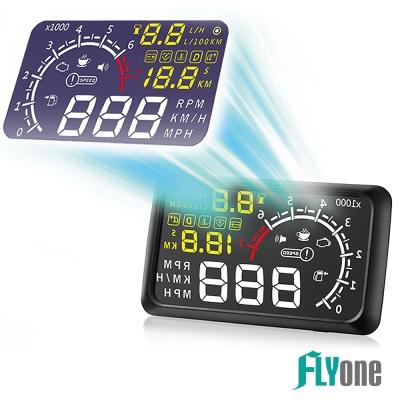 FLYone RM-H3 HUD OBD2 抬頭顯示器-急速配