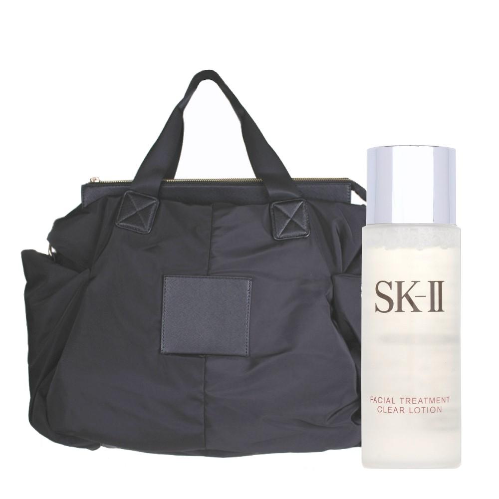 即期品SK-II亮采化妝水30ML璀璨御宴空氣托特包附背帶