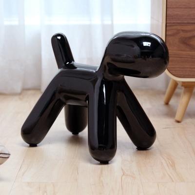 H&D Puppy Chair復刻款狗狗造型椅/裝飾椅/小-黑色