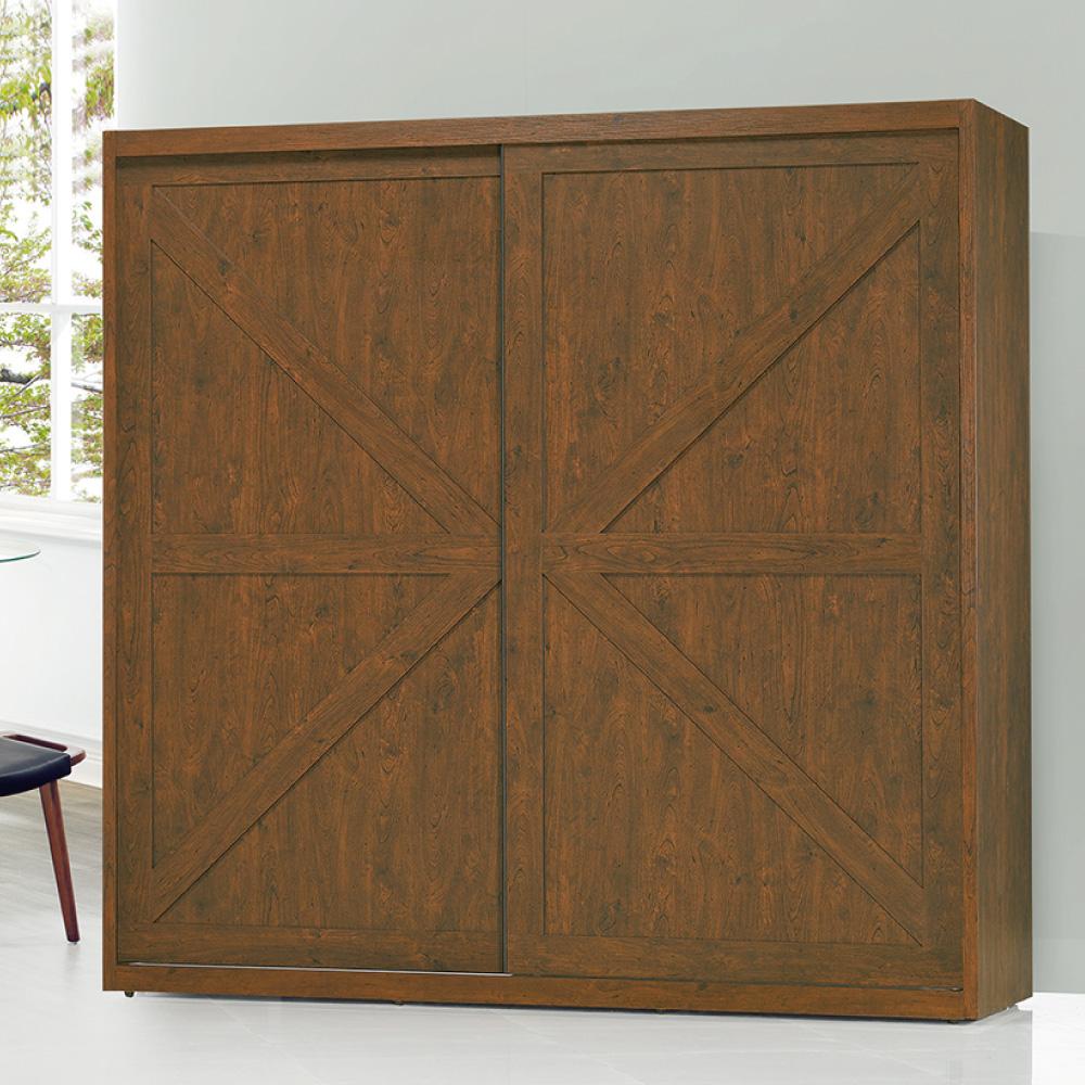 北歐風 弗羅倫斯7尺衣櫃-211x60x207cm