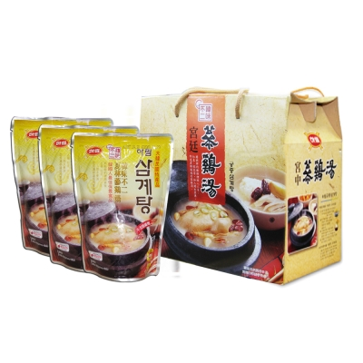 韓味不二 夏林蔘雞湯(1kgx3入)