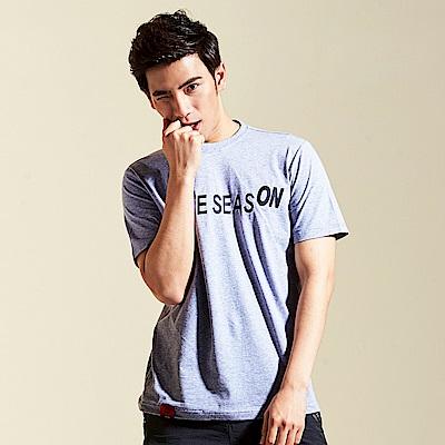 【AIRWALK】SKATE ON棉圓領T恤-灰色