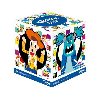 舒潔皮克斯80抽方形盒面*20盒/箱