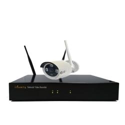 宇晨I-Family免配線/免設定1080P四路式無線監視系統套裝一機一鏡