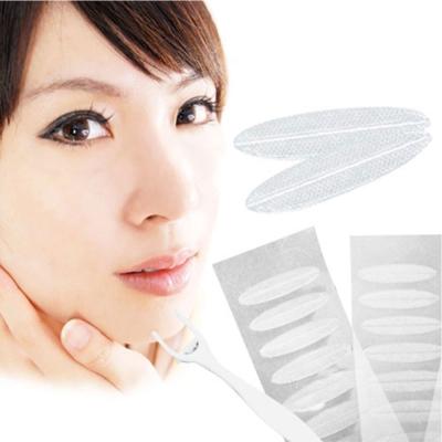 超隱形雙眼皮貼寬版3mm霧面不反光自然透明款-超值加量160枚入贈Y型棒  miuni