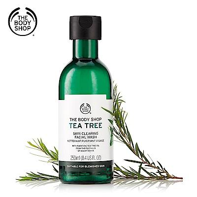 The Body Shop 茶樹淨膚深層潔面膠-250ML