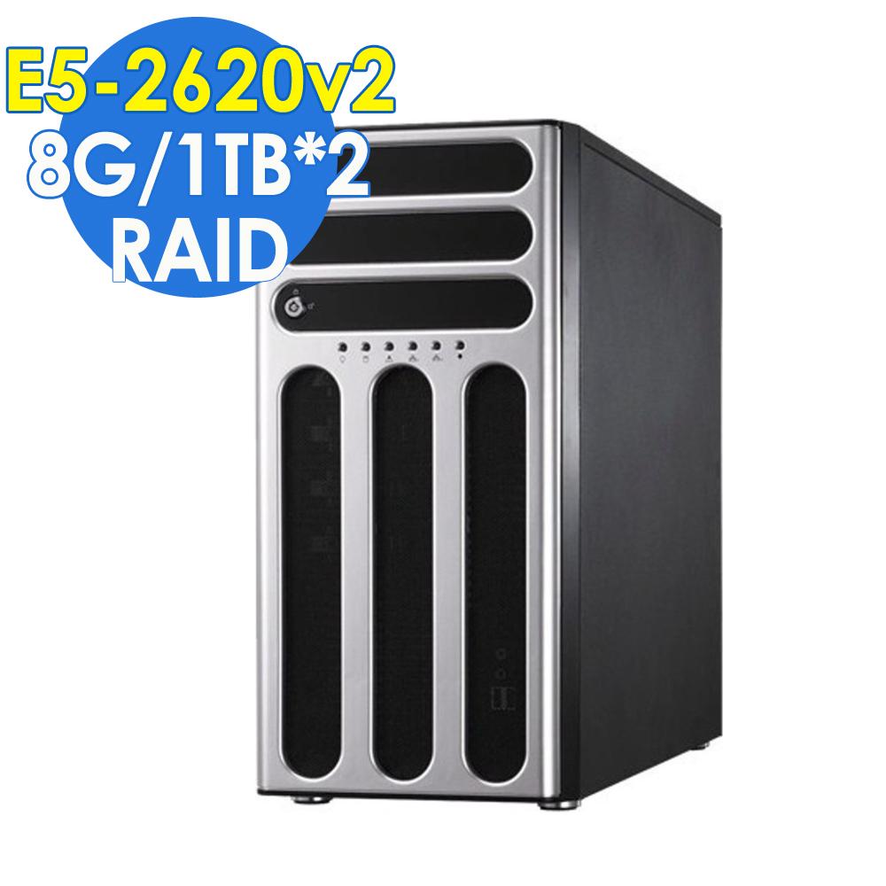 ASUS TS700-X7  直立式高階伺服器 8G/1TBX2