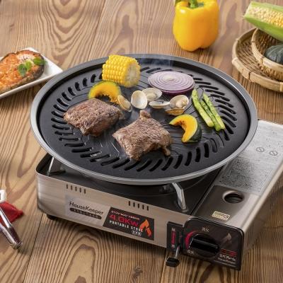 [買就送妙管家優質休閒爐] 妙管家 和風燒烤盤(大)/烤肉盤HKGP-33