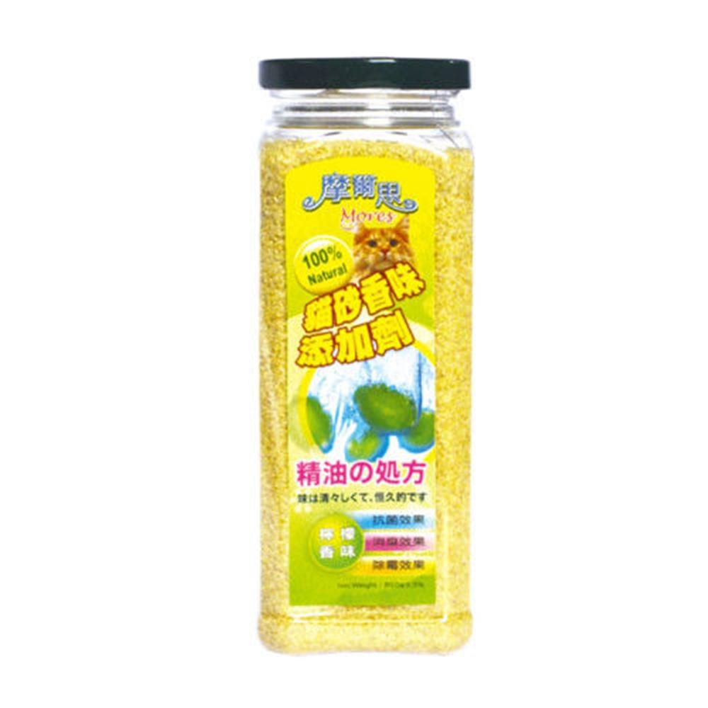 摩爾思 貓砂添加劑 檸檬香味 850g