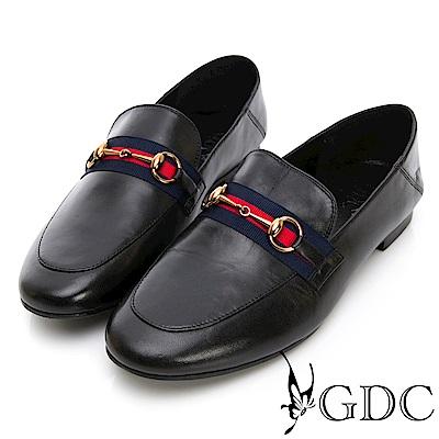 GDC-真皮歐美風舒適氣質包鞋-黑色
