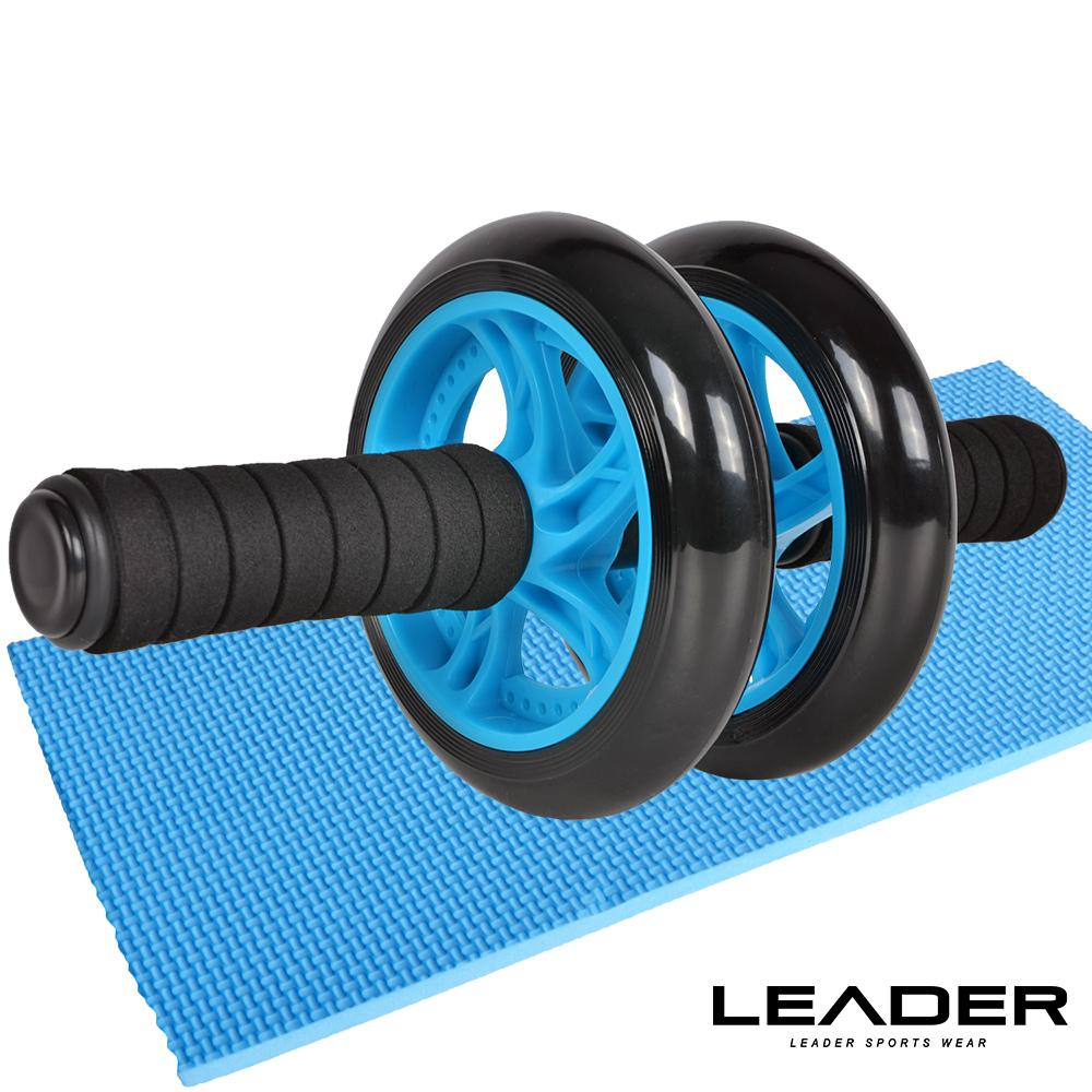Leader X 超靜音滾輪健身器 健腹器 滾輪