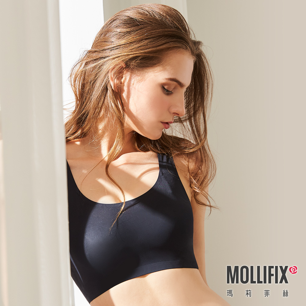 Mollifix 瑪莉菲絲 睡睡塑 循環美胸衣 (黑)