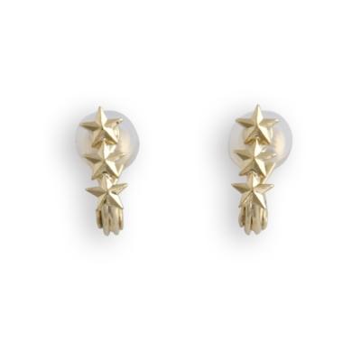 JewCas Air Earring系列素雅星星耳環_JC2658