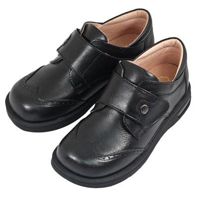 Swan天鵝童鞋-雕花氣墊學生鞋6331-黑