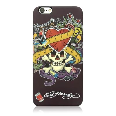 Ed Hardy iPhone 7 / 8 (4.7吋) 亮面保護殼-縫紉骷髏