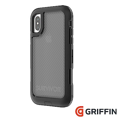 Griffin Survivor Extreme iPhoneX防摔保護殼-黑/...