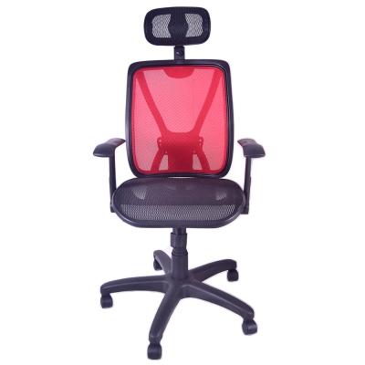 高背頭枕ONE透氣坐墊工學椅電腦椅/辦公椅