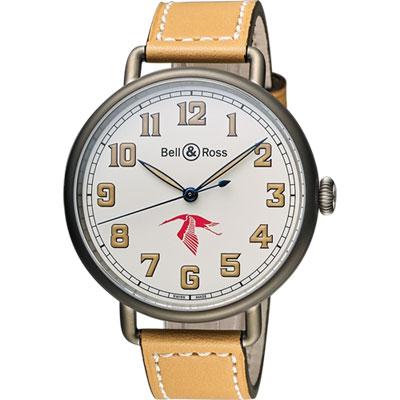 Bell & Ross WW1 GUYNEMER 一次大戰紀念錶-米白/45mm