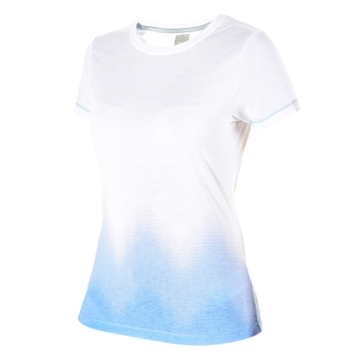 【Berghaus 貝豪斯】女款銀離子短袖T恤S04F08-白