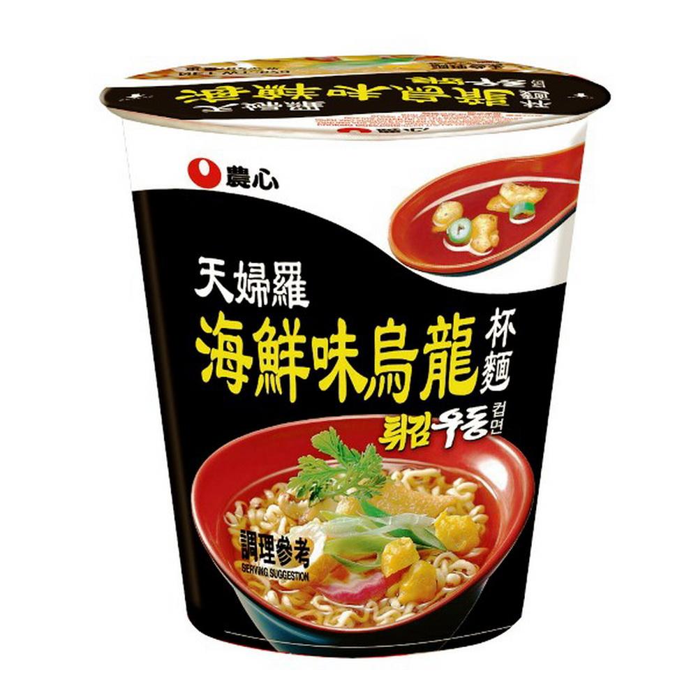 農心 天婦羅海鮮味杯麵(62gx12杯)