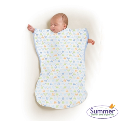 美國 Summer Infant 小蝴蝶背心睡袋 - 歡樂小車