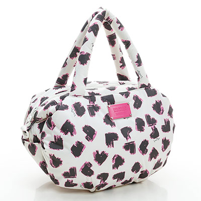 VOVAROVA空氣包-三用肩背托特包-彩繪甜心(白)-法國設計系列