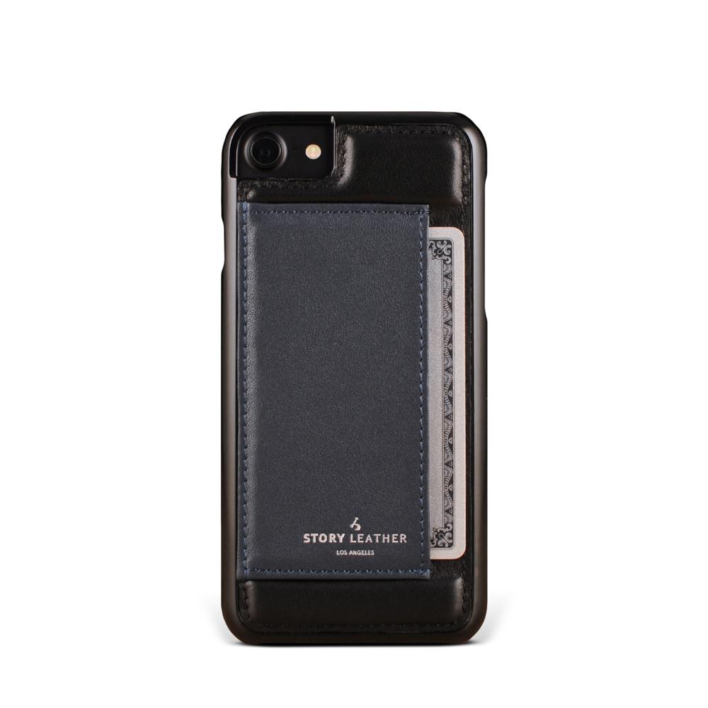 STORYLEATHER iPhone 7 (4.7吋) 手機殼 小牛皮黑現貨