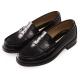 (女)日本 HARUTA 復古經典4505亮面便士鞋-黑色 product thumbnail 1