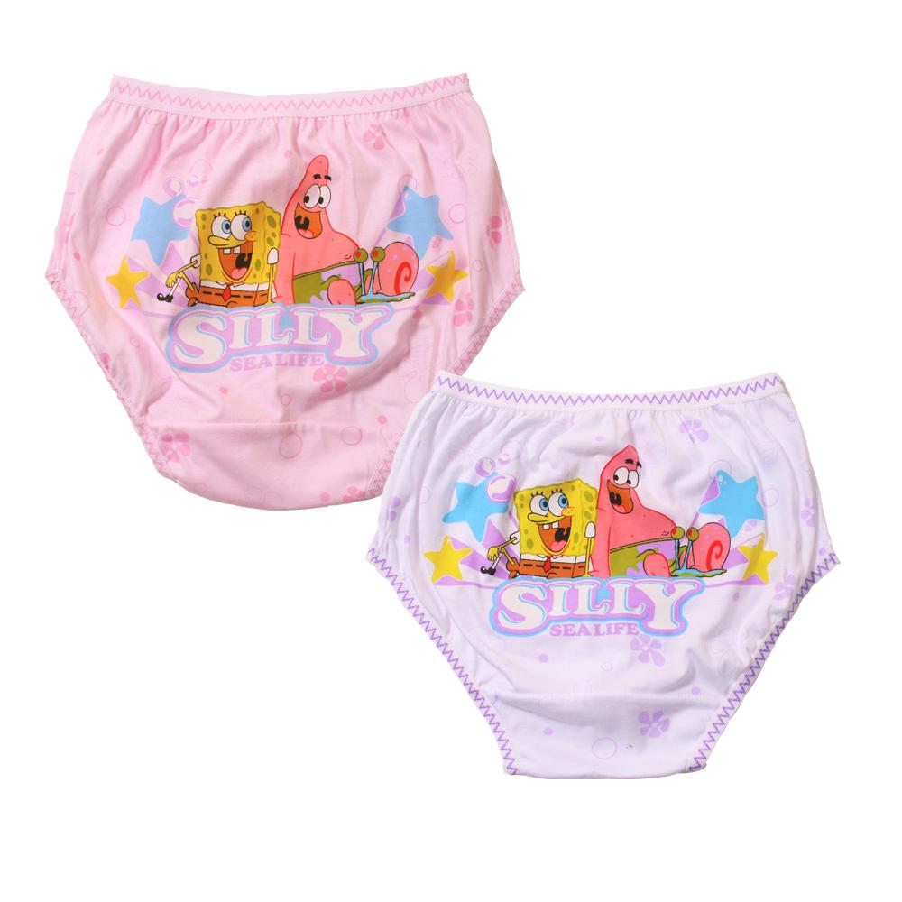 魔法Baby 台灣製海綿寶寶三角內褲 k39009