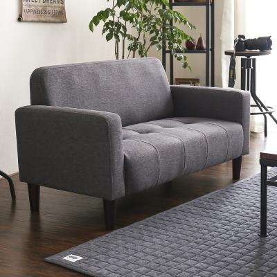 MODERN DECO FACILO法西羅舒適雙人布沙發(6色)