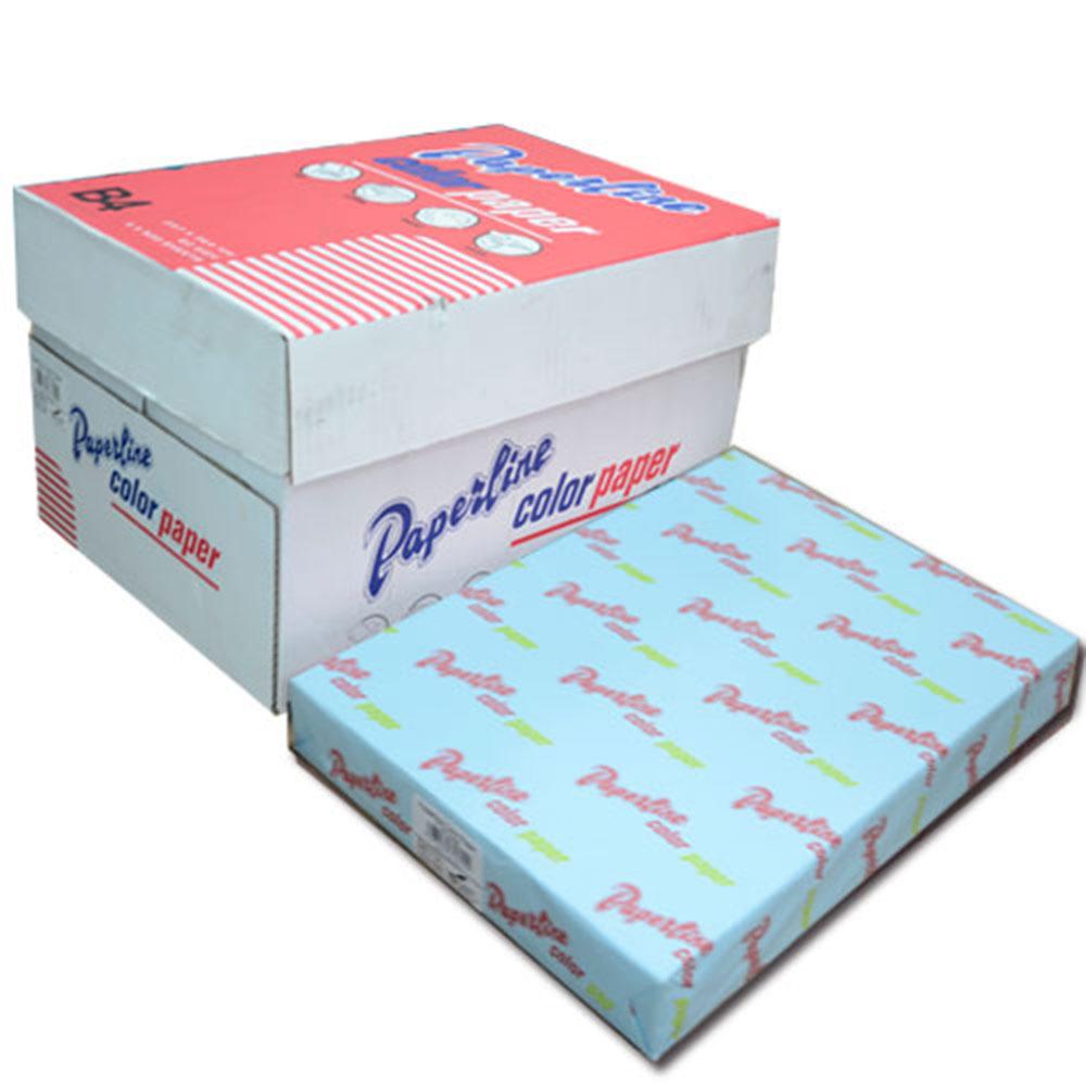 PAPERLINE 120 / 80P / B4 淺藍 彩色影印紙  (500張/包)