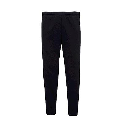 FILA x plain-me 聯名系列 針織束口長褲-黑1PNS-1482-BK