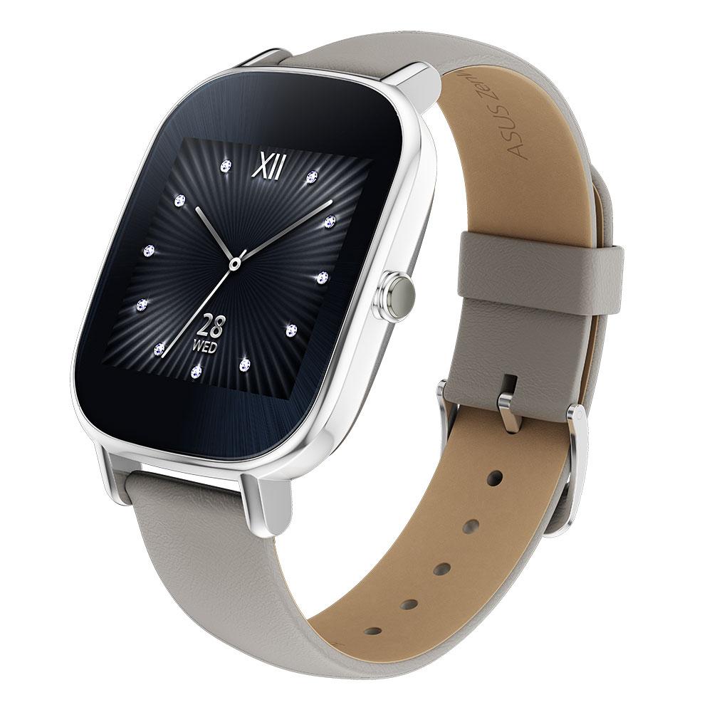 ASUS ZenWatch2 智慧手錶- 真皮裸膚