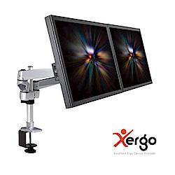 Xergo 雙延伸臂雙螢幕夾桌支撐架-EM43116