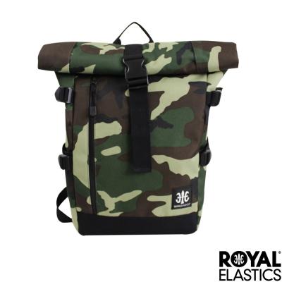 Royal Elastics - 捲蓋式休閒後背包 - Hunter都會獵人系列 - 迷彩