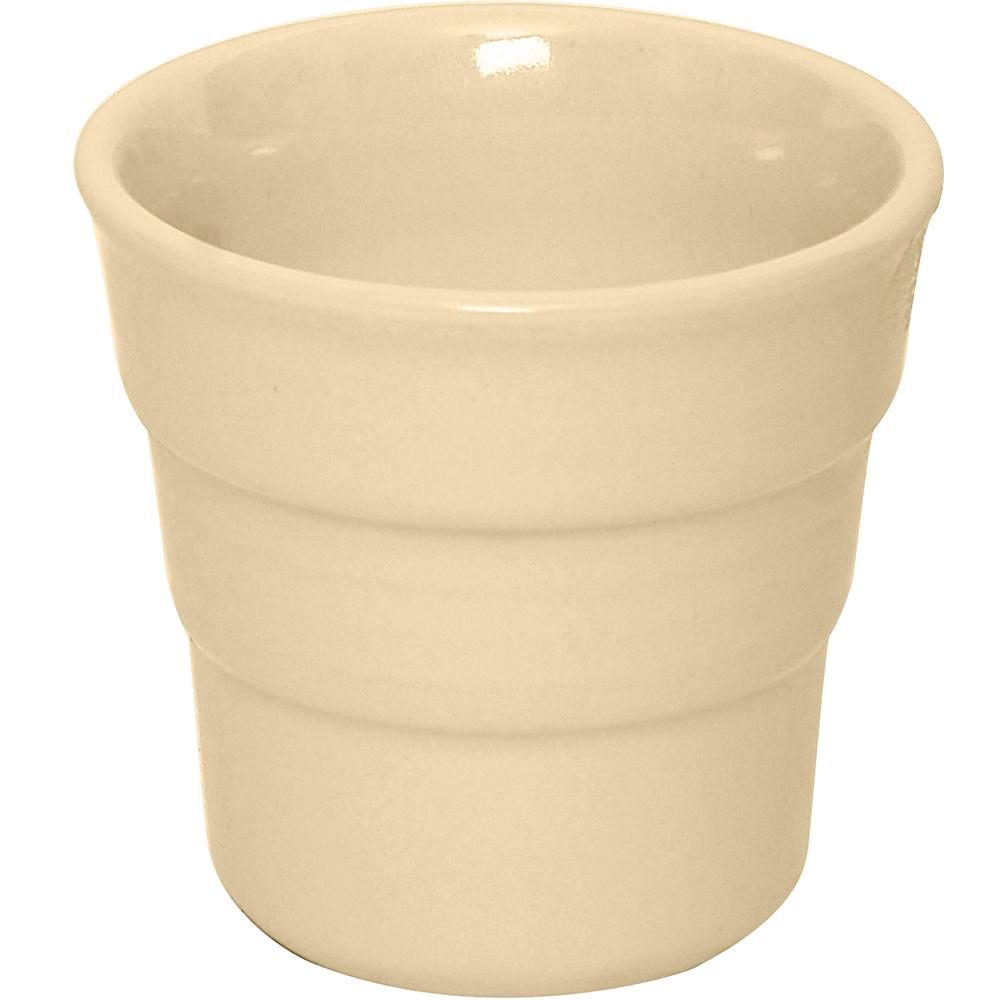 EXCELSA 階紋手握咖啡杯(奶油黃)