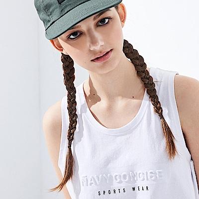 CACO-品牌鋼印背心.情侶款(兩色)-女【PNC002】