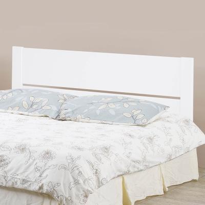 H&D 松木烤白3.5尺床頭片 (寬110X深3.5X高91cm)