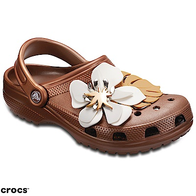 Crocs 卡駱馳 (中性鞋) 經典花朵克駱格 205248-854