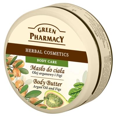 Green Pharmacy 草本肌曜 摩洛哥堅果油&無花果美體滋養霜 200ml @ Y!購物