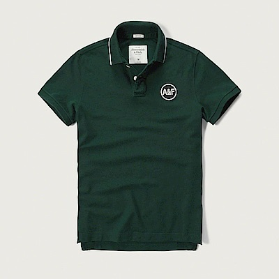 AF a&f Abercrombie & Fitch POLO 綠色 0772