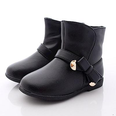 PV日系私藏~皮質短靴款-6511黑色(小童段)T1#13
