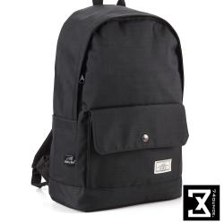 74盎司 簡約設計後背包(14吋)[K-011]黑
