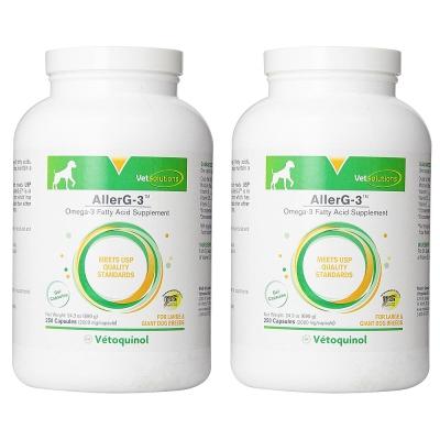 法國Vetoquinol威隆 愛樂健魚油 (大) 60顆 X 2入