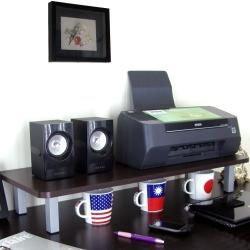 頂堅 寬80公分-桌上型置物架/螢幕架(二色)